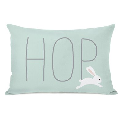 Carrboro Bunny Hop Lumbar Pillow