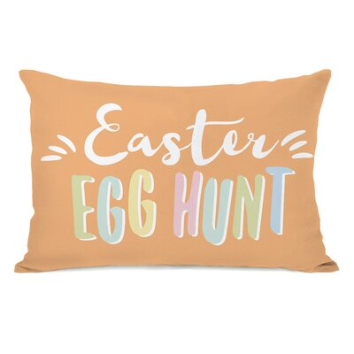 Easter Egg Hunt Lumbar Pillow