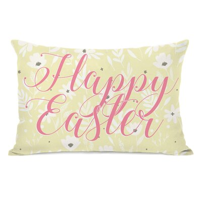 Happy Easter Lumbar Pillow