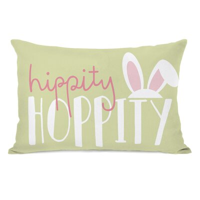 Hippity Hoppity Lumbar Pillow