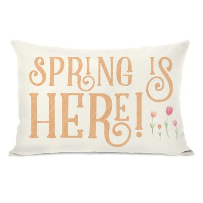 Libertyville Spring Is Here Tulips Lumbar Pillow