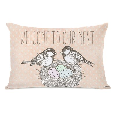 Danelle Welcome to Our Nest Lumbar Pillow