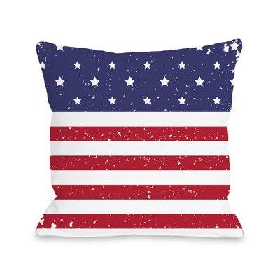 Villa Flag Throw Pillow Size: 16 H x 16 W x 3 D