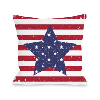 Villa Star Throw Pillow Size: 18 H x 18 W x 3 D