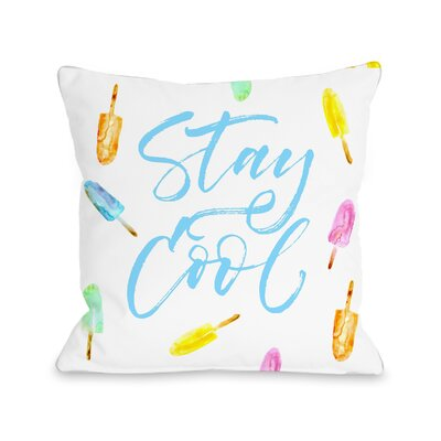 Palisades Stay Cool Throw Pillow Size: 18 H x 18 W x 3 D