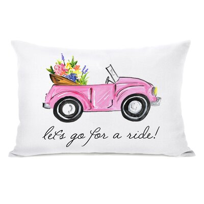 Holmes Lets Go for a Ride Lumbar Pillow