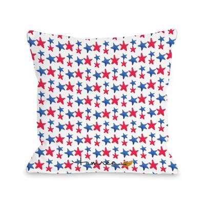 Pinwheels Throw Pillow Size: 18 H x 18 W x 3 D