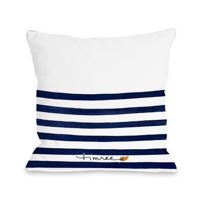 Holmberg Bag Outdoor Throw Pillow Size: 18 x 18