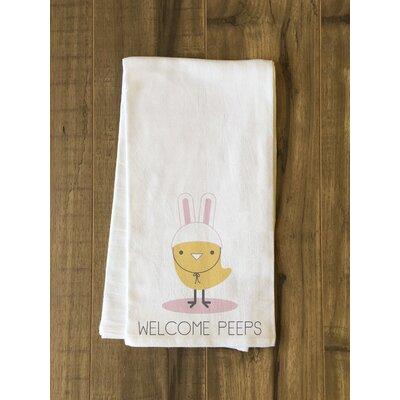 Welcome Peeps Cotton Dishcloth BRAY7257 39473317