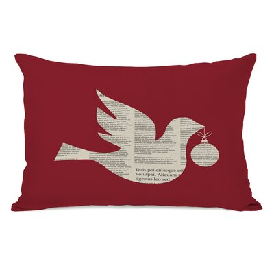News Bird Lumbar Pillow
