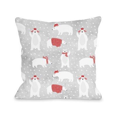 Chevy Polar Pattern Throw Pillow Size: 16 x 16