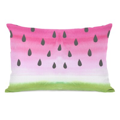 Watermelon Juice Lumbar Pillow