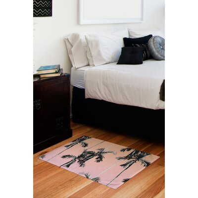 Floor Rectangle Pink Area Rug