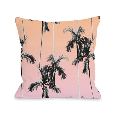 Graphic Print Throw Pillow Size: 18 x 18