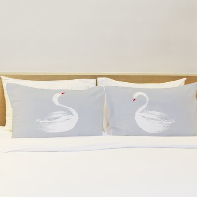 Swan Dance Pillow Case