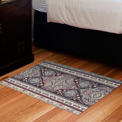 Desideria Floor Purple Area Rug