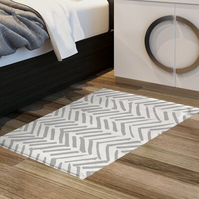 Hisako Floor Gray Area Rug