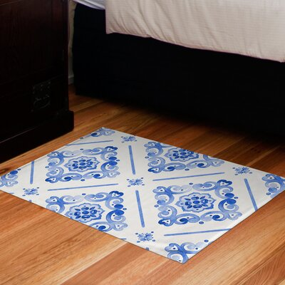Benedict Floor Navy Area Rug