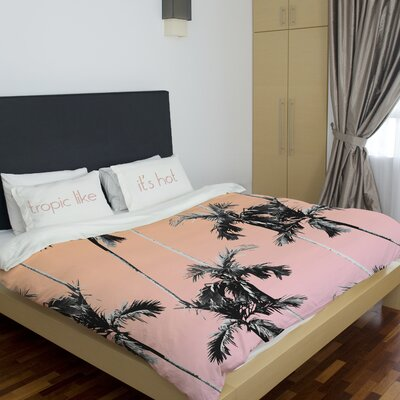 Modern Lightweight Duvet Cover Size: Queen