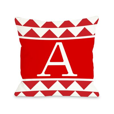 Aztec Monogram Pillow