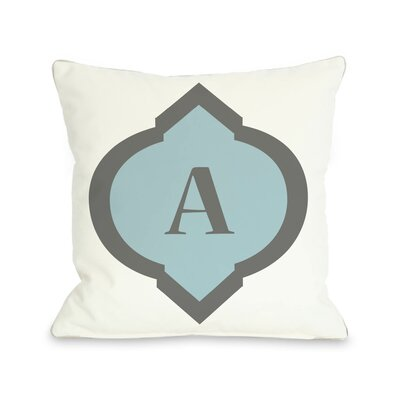 Circle Monogram Pillow