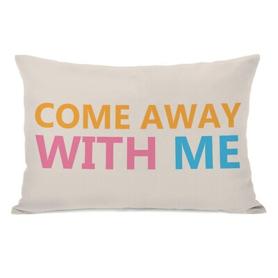 Come Away With Me Pillow