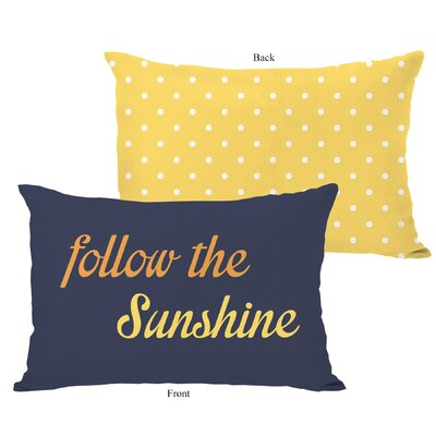 Follow the Sunshine Pillow