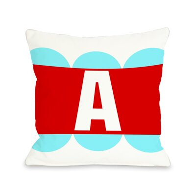 Half Circle Monogram Pillow