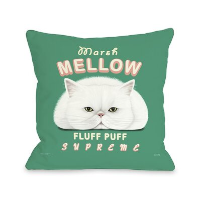 Marsh Mellow Pillow Size: 16 H x 16 W x 3 D