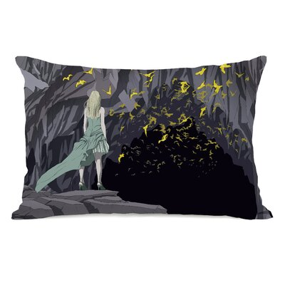Bat Cave Lumbar Pillow