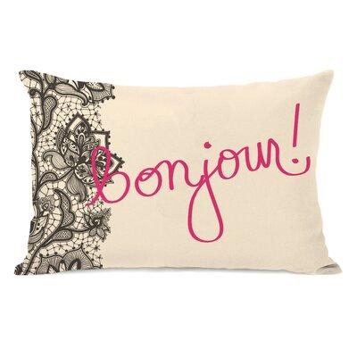 Bonjour Lace Lumbar Pillow