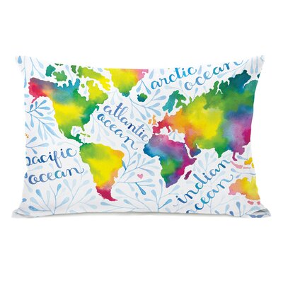 Oceanography Lumbar Pillow