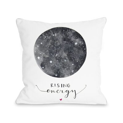 Rising Energy Throw Pillow