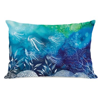 Sea Life Lumbar Pillow