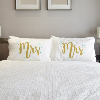 Better Together 2 Piece Misses Misses Pillow Case Set