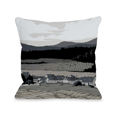 Open Field Throw Pillow Size: 16 H x 16 W x 3 D