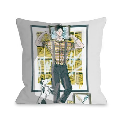 Milwalkee Throw Pillow Size: 18 H x 18 W x 3 D