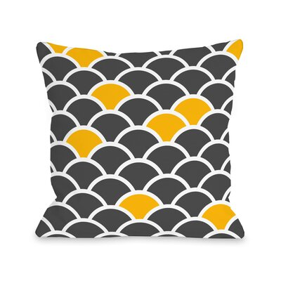 Scales Throw Pillow Size: 16 H x 16 W x 3 D