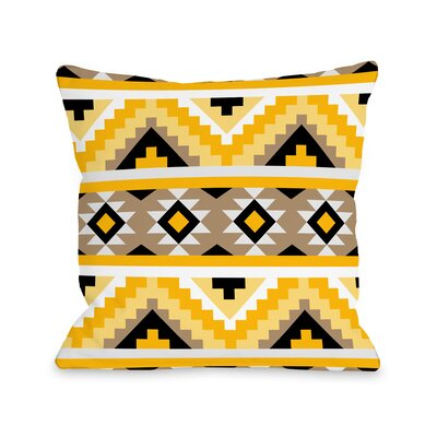 Sheila Throw Pillow Size: 18 H x 18 W x 3 D
