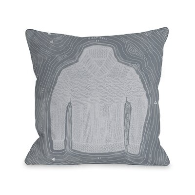 Sweater Island Throw Pillow Size: 18 H x 18 W x 3 D
