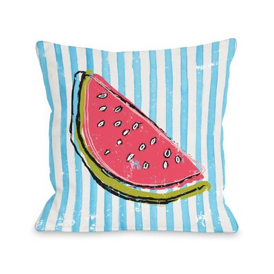 Whatthemelon Throw Pillow Size: 18 H x 18 W x 3 D