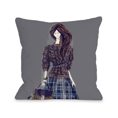 Sweater Layering Throw Pillow Size: 18 H x 18 W x 3 D