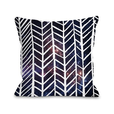 Beyond the Stars Throw Pillow Size: 18 H x 18 W x 3 D