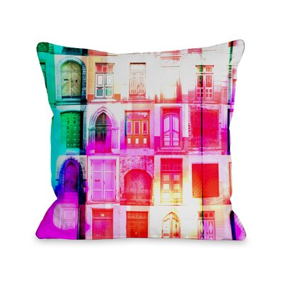 Opportunities Awaiting Throw Pillow Size: 16 H x 16 W x 3 D