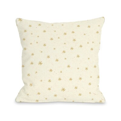 Shine Bright Throw Pillow Size: 18