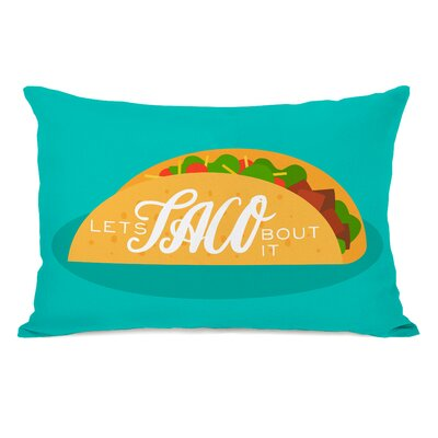Spada Lets Taco Bout It Throw Pillow