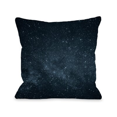 Spaulding Out Of This World Throw Pillow Size: 18 x 18