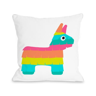 Speakman Pinata Throw Pillow Size: 16