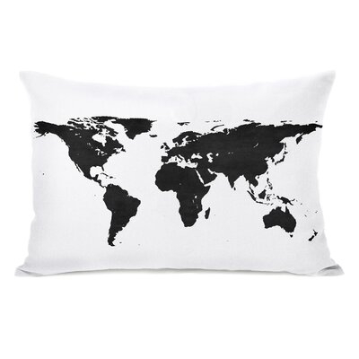 Betancourt Classic Map Lumbar Pillow