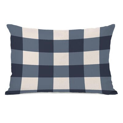Imrane Lumbar Pillow Color: Blue
